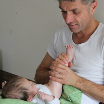 Ateliers masssage bébé
